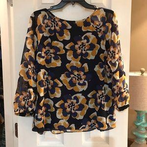 Cabi scoop neck blouse